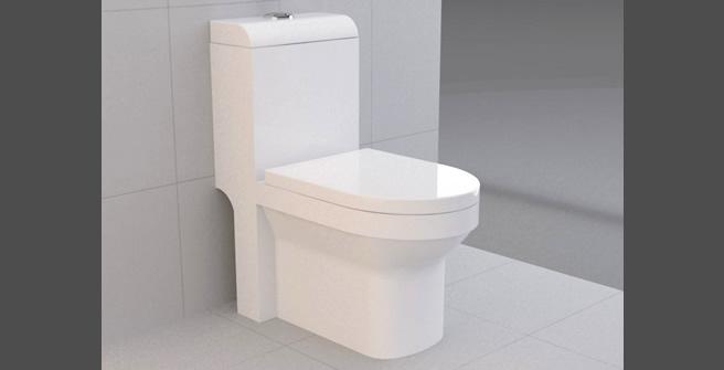 Louças Sanitárias  Via Férrea  Metais e Acessórios -> Decoracao De Banheiro Com Vaso Sanitario Preto